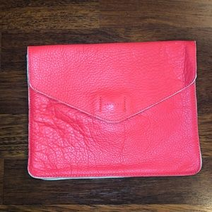 Pink envelope purse from Gap
